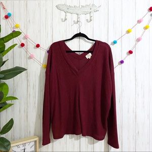PST waffle knit thermal LARGE